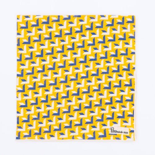 3-dimensional white, yellow...