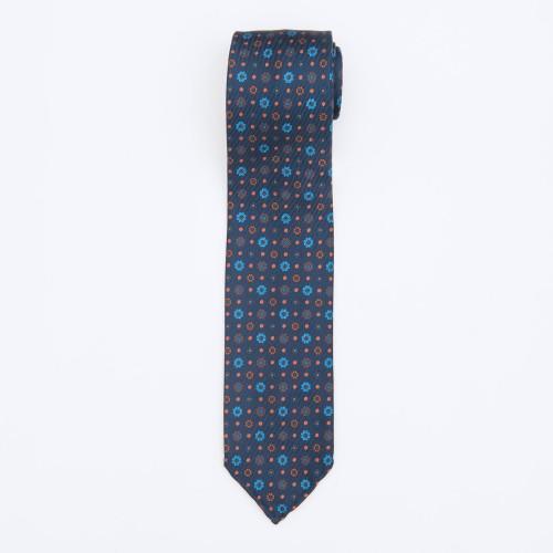 Floral patterned blue...